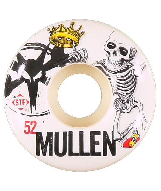 Bones Rodney Mullen Crown 52mm Skateboard Wheels