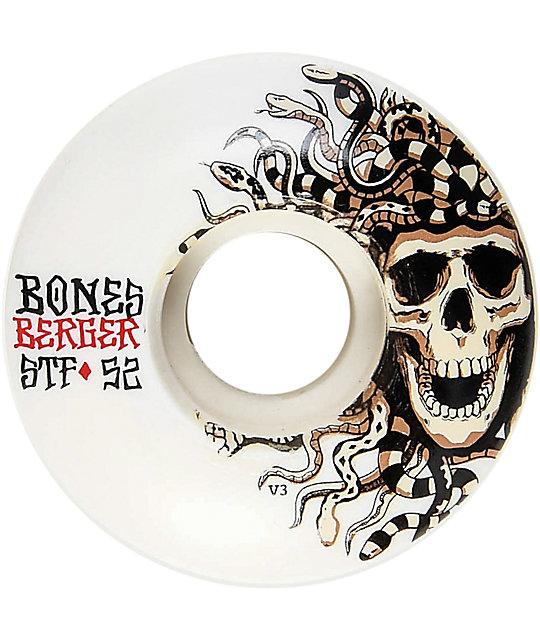 Bones STF Pro Berger Medusa 52mm Skateboard Wheels