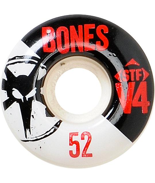 Bones STF Standard 52mm Skateboard Wheels
