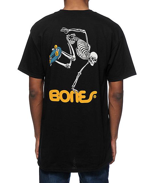 Bones Skate Skeleton T Shirt