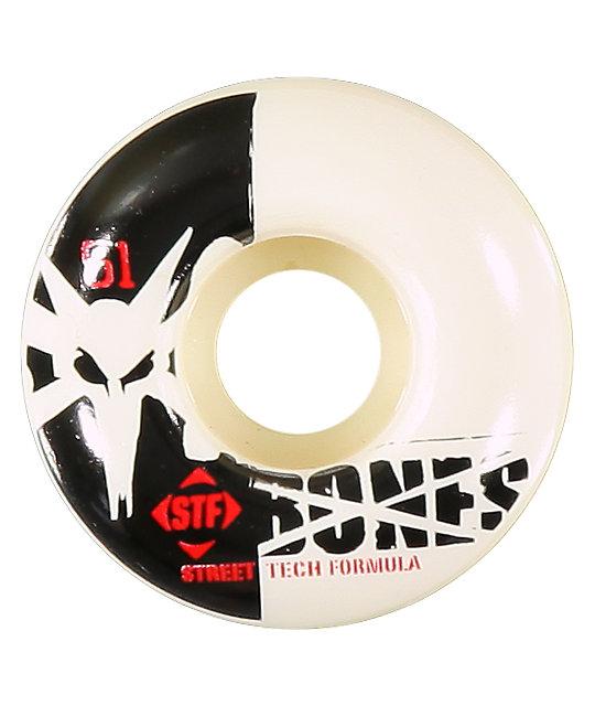 Bones Standard 51mm STF Skateboard Wheels