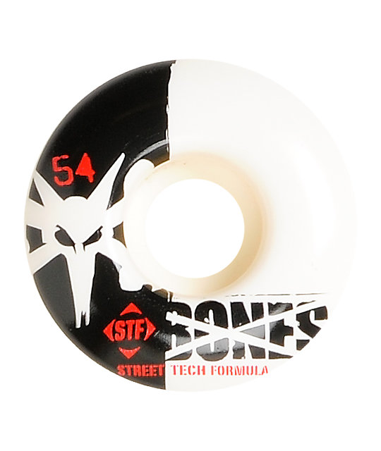 Bones Standard 54mm STF Skateboard Wheels