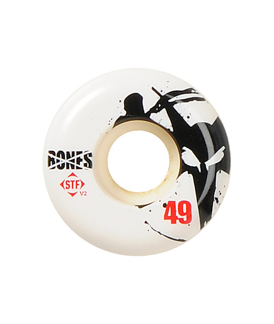 Bones Thin Bones STF 49mm Skateboard Wheels