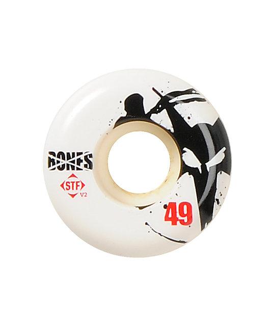 Bones Thin Bones STF 49mm Skateboard Wheels