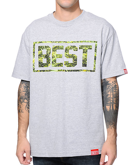 Breezy Excursion Cannabest Grey T-Shirt