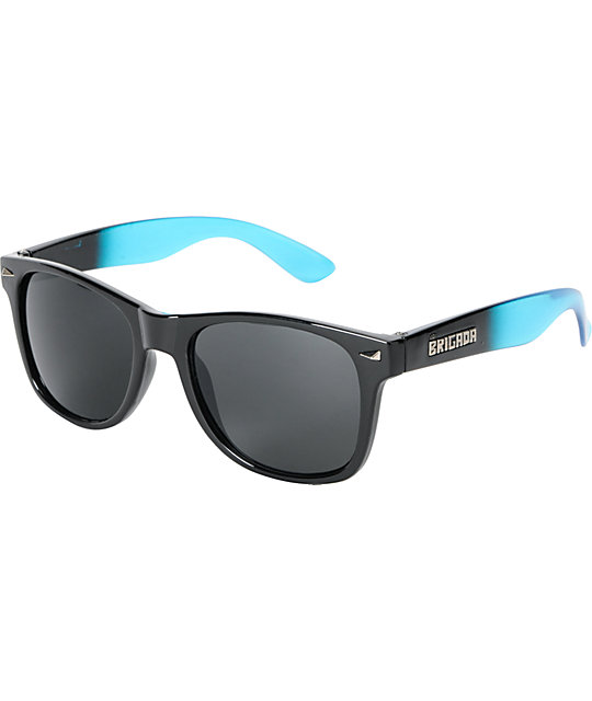 Brigada Lawless Blue Black Fade Sunglasses