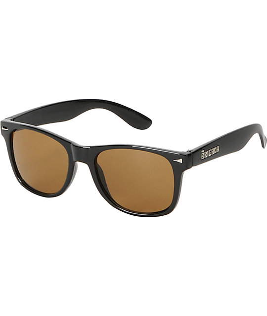 Brigada Lawless Brown Tortoise Sunglasses