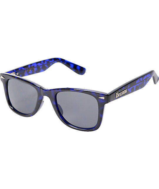 Brigada P-Rod Blue Tortoise Sunglasses