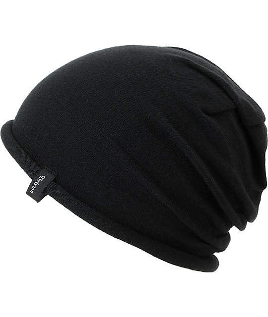 Brixton Abbey Black Beanie