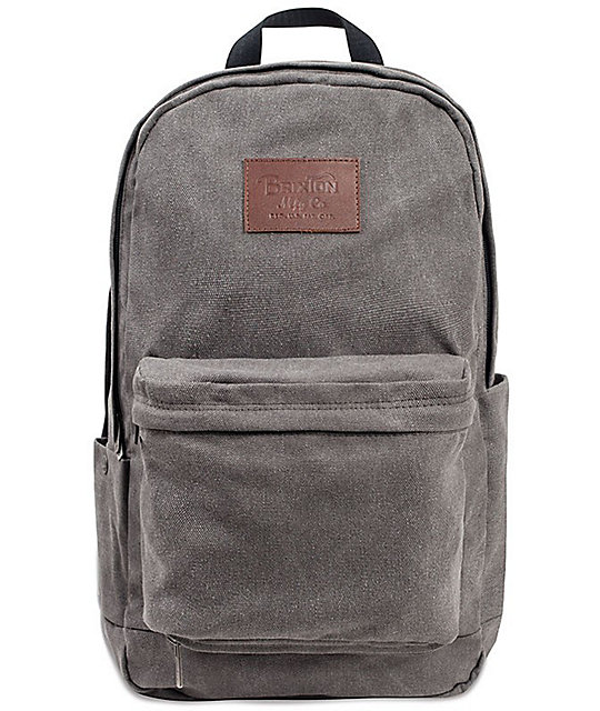 Brixton Basin Grey 25L Backpack