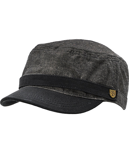 Brixton Busker Tweed Military Hat