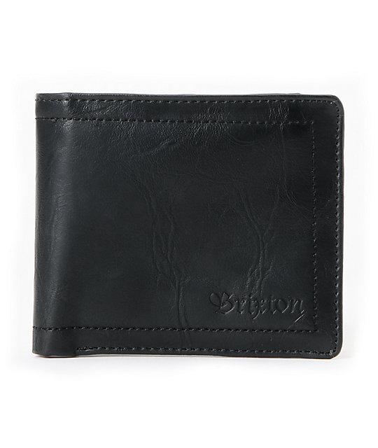 Brixton Chord Black Bifold Wallet