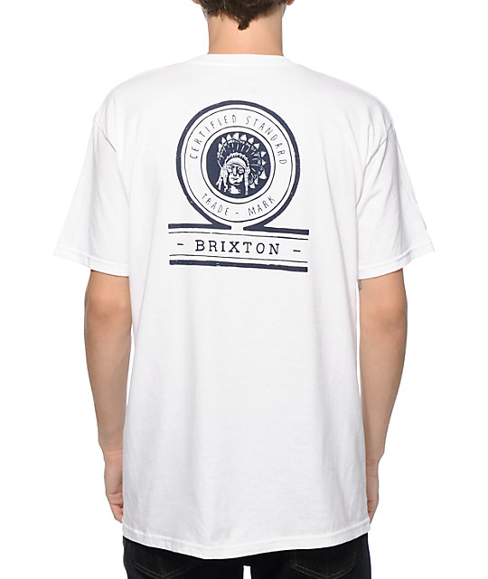 Brixton Crow Pocket T Shirt by Brixton