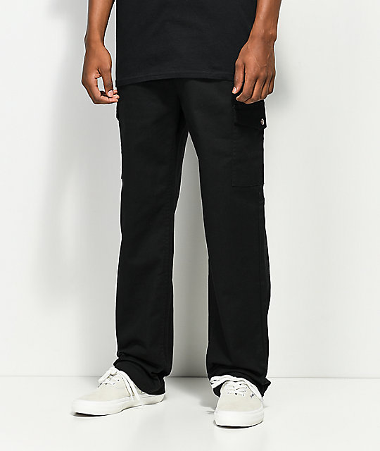 Brixton Fleet Black Cargo Pants