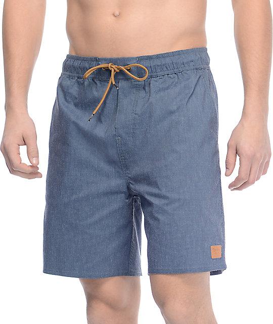 Brixton Havana Navy Board Shorts