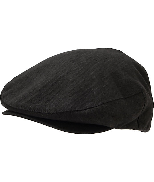 Brixton Hooligan Black Snap Cap