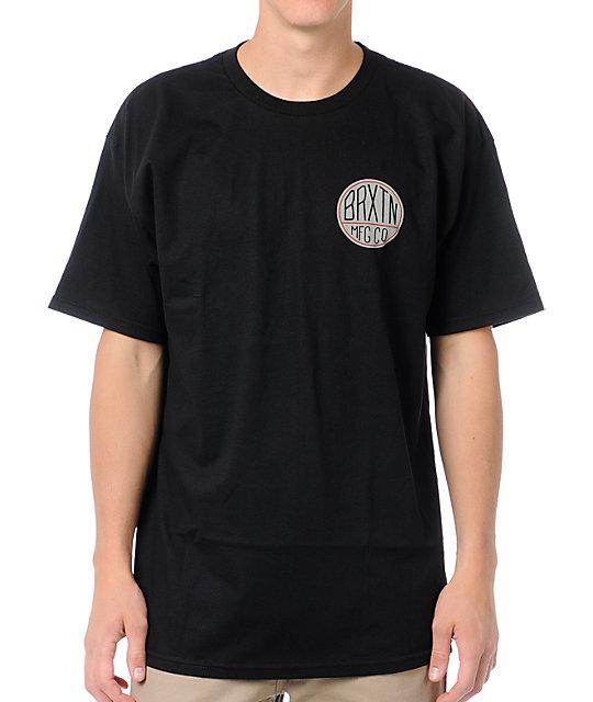 Brixton Mason Black T-Shirt