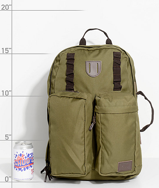 Brixton Range Olive Backpack