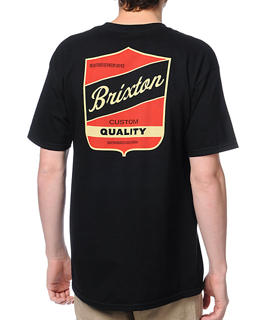 Brixton Ratchet Black T-Shirt