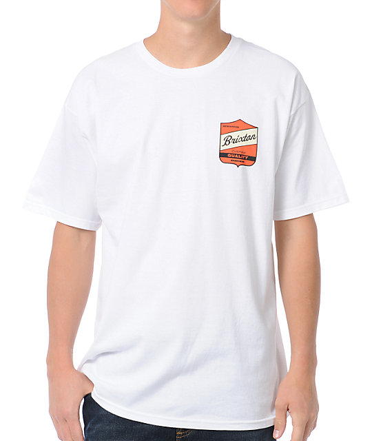 Brixton Ratchet White T-Shirt