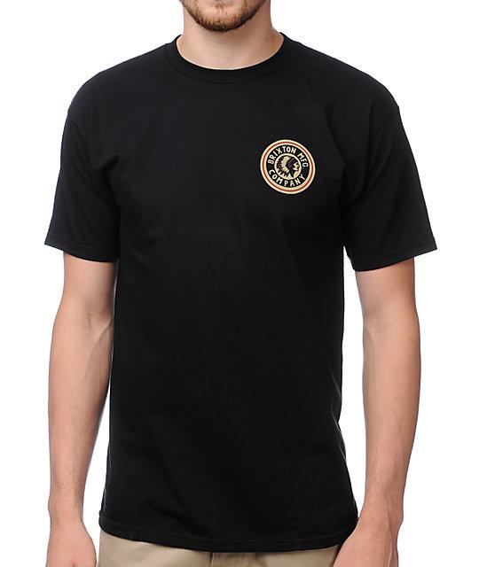 Brixton Spear Black T-Shirt