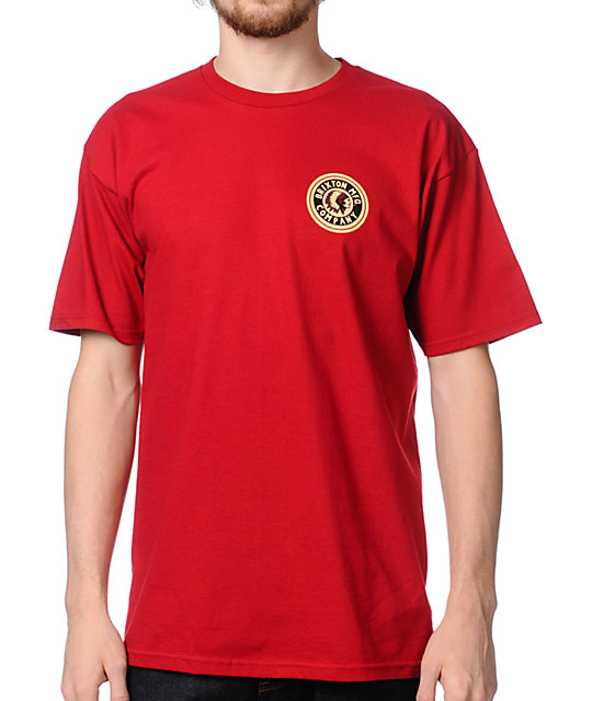 Brixton Spear Red T-Shirt