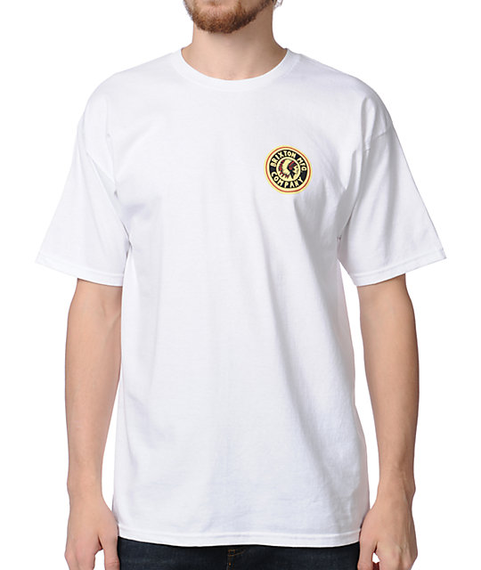 Brixton Spear White T-Shirt