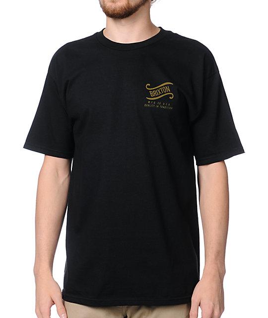 Brixton Surge Black T-Shirt
