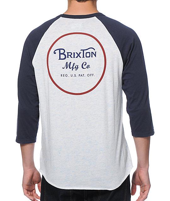 Brixton Wheeler Baseball T-Shirt