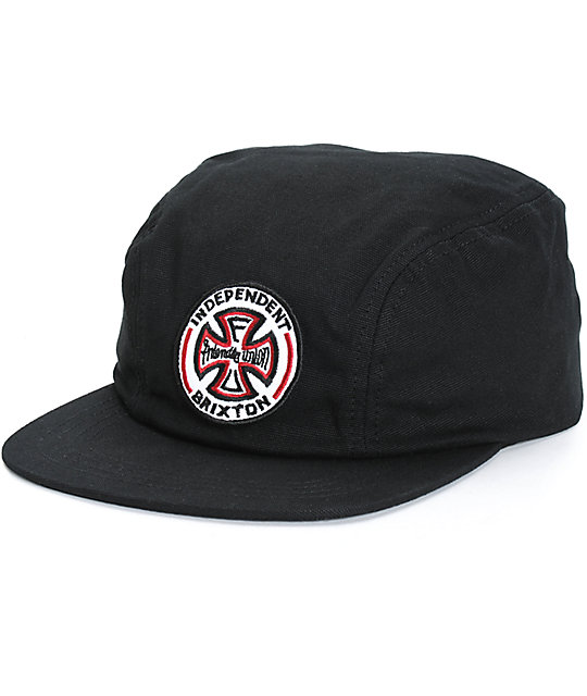 Brixton x Independent Crook Snapback Hat