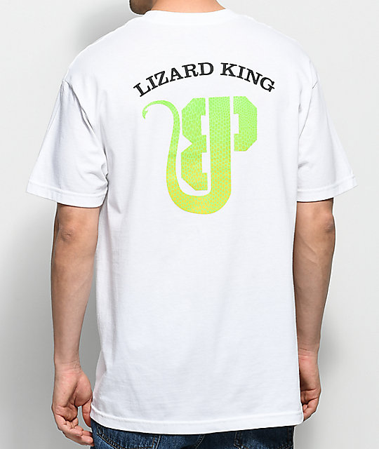 Brooklyn Projects x Lizard King Logo White T-Shirt