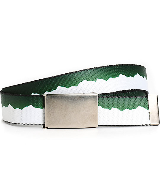 Buckle Down Mountains Web Belt