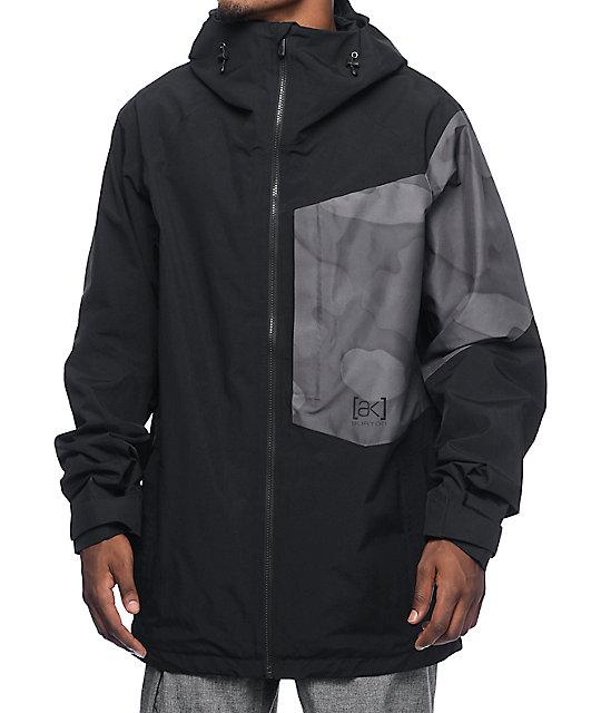 Burton AK GORE-TEX 2L Boom true black Snowboard Jacket