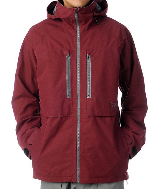 Burton AK Stagger Crimson 2L GORE-TEX Snowboard Jacket