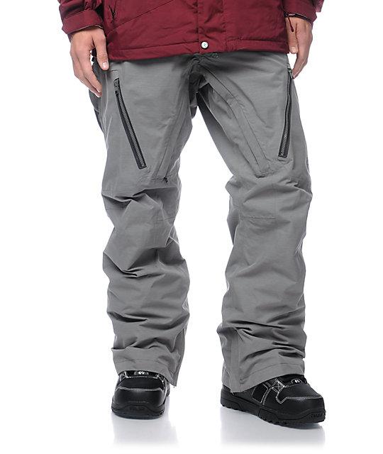 Burton AK Stagger Grey GORE-TEX 20K Snowboard Pants