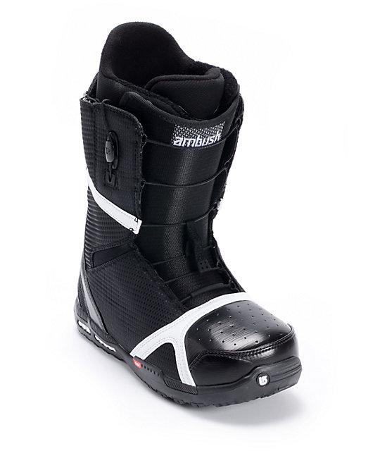Burton Ambush Black Mens Snowboard Boots