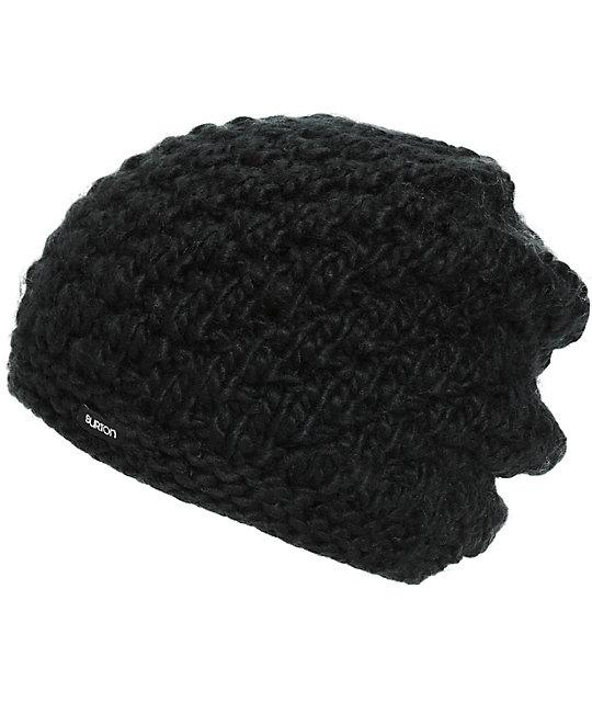 Burton Big Bertha Black Beanie