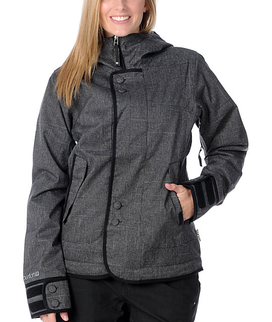 Burton Black 10K Jet Set Snowboard Jacket