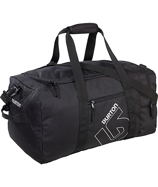 Burton Boothaus Medium Black Duffel Bag