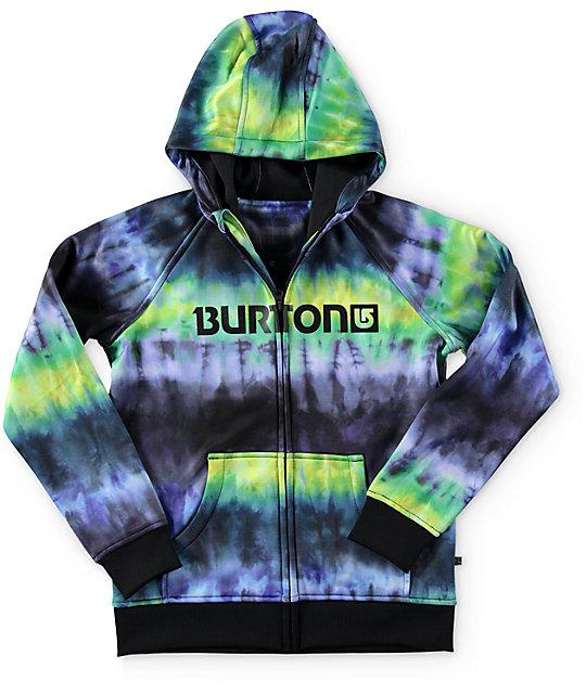 Burton Boys Bonded Tie Dye Tech Fleece