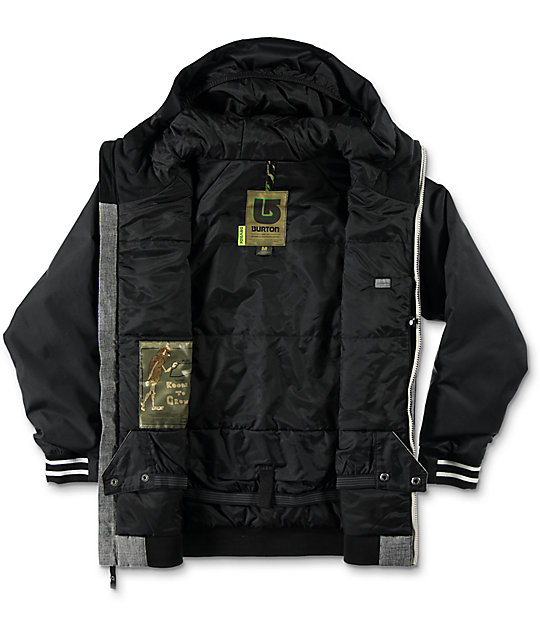 Burton Boys Game Day True Black 5k Snowboard Jacket