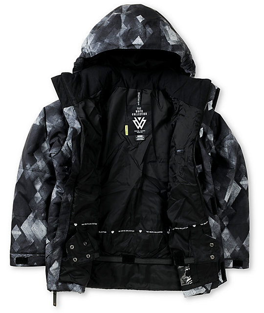 Burton Boys TWC Warm & Friendly 10K Black Snowboard Jacket 2013