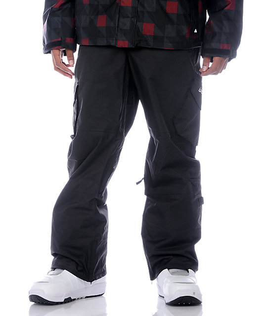 Burton Cargo Black Snowboard Pants