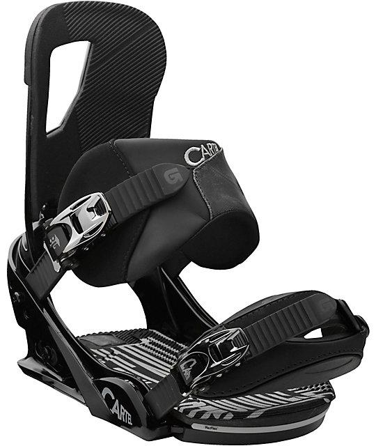Burton Cartel Black ReFlex Snowboard Bindings