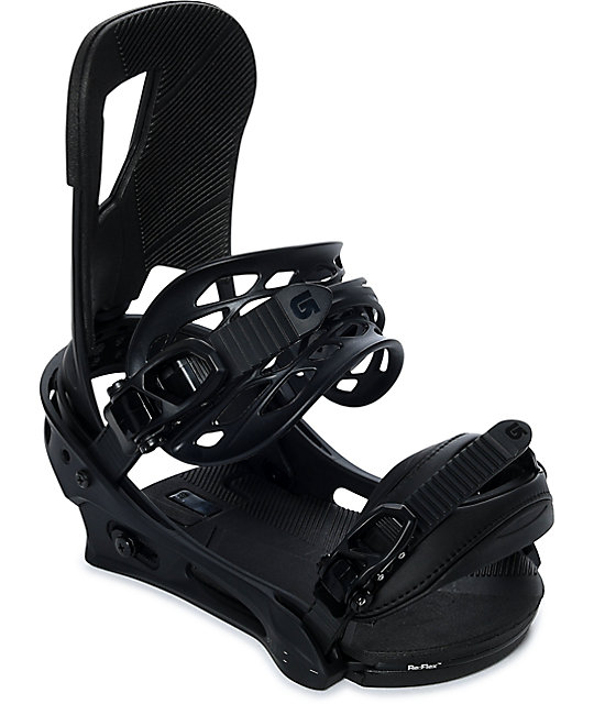 Burton Cartel Matte Black Snowboard Bindings