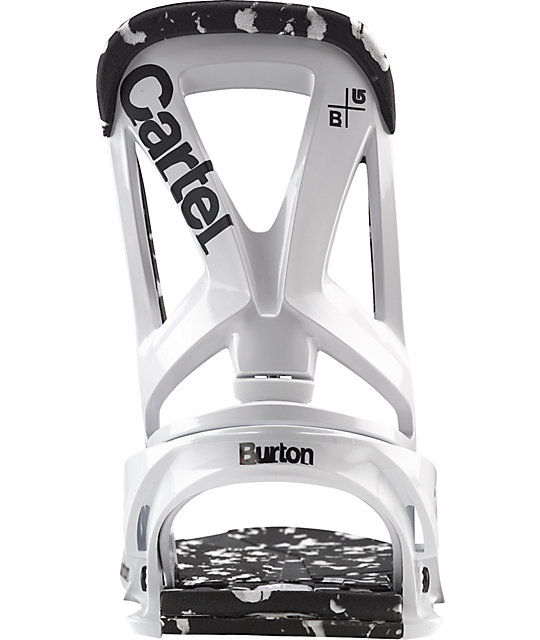 Burton Cartel Reflex White Mens Snowboard Bindings