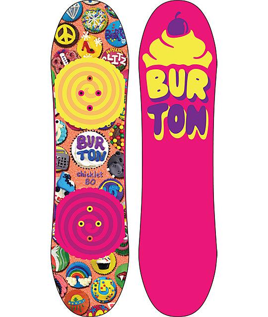 Burton Chicklet 80cm Girls Snowboard At Zumiez : PDP