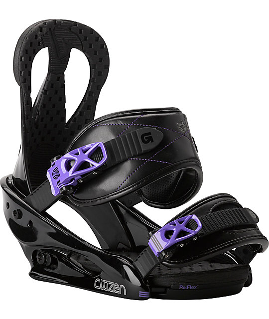 Burton Citizen Black Womens Snowboard Bindings