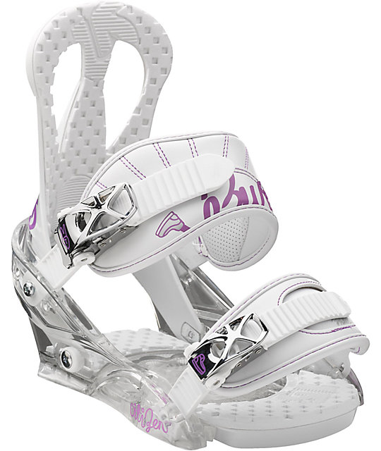 Burton Citizen Womens White Snowboard Bindings