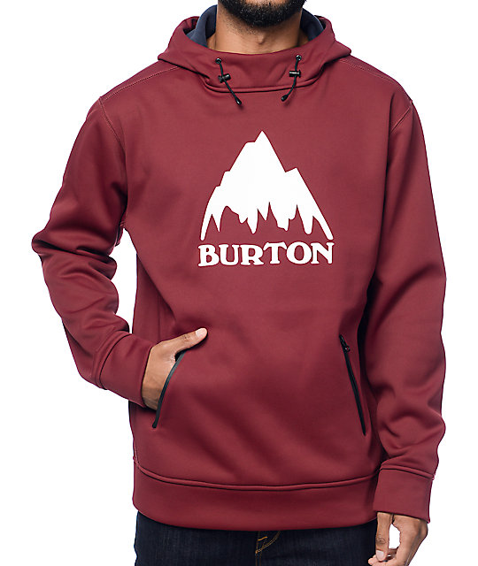 Burton Crown Bonded Wino Tech Fleece Hoodie